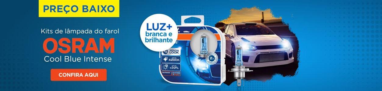 Kit lâmpada do farol Osram Cool Blue Intense set21